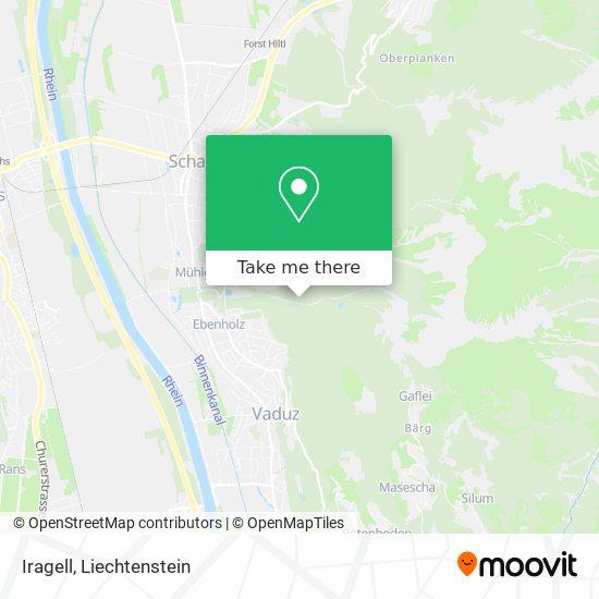 Iragell map