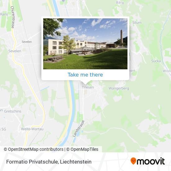 Formatio Privatschule map