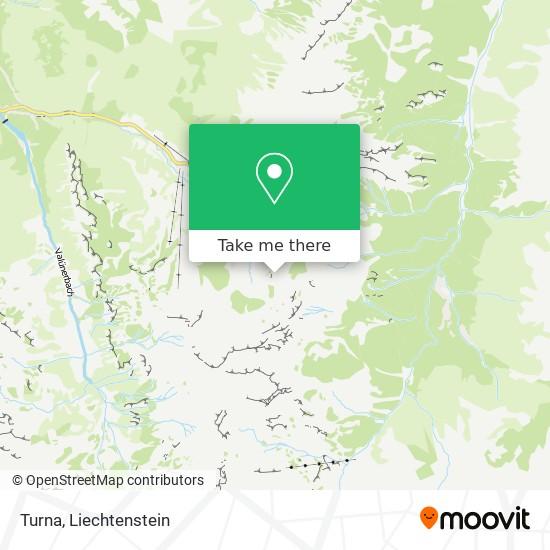 Turna map
