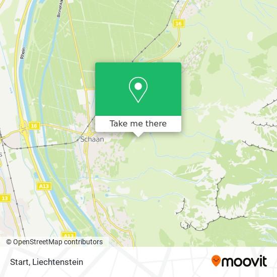 Start map