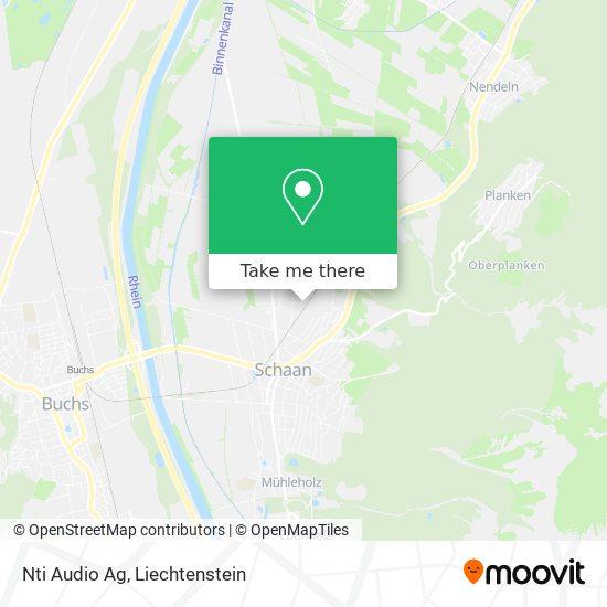 Nti Audio Ag map