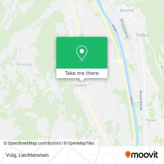Volg map
