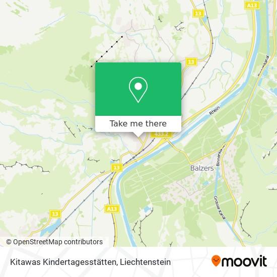 Kitawas Kindertagesstätten map