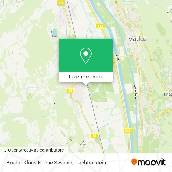 Bruder Klaus Kapelle map