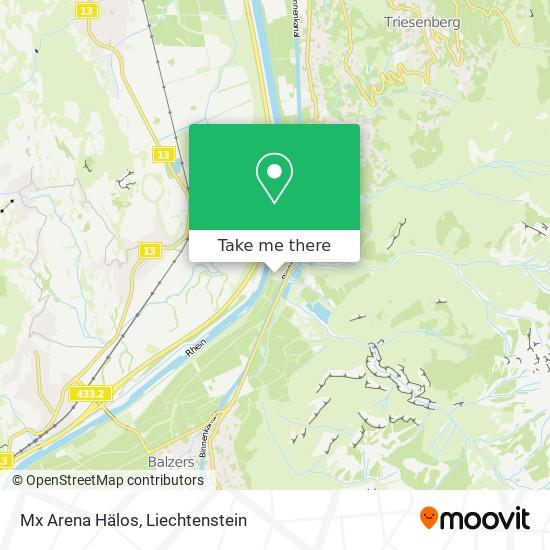 Mx Arena Hälos map