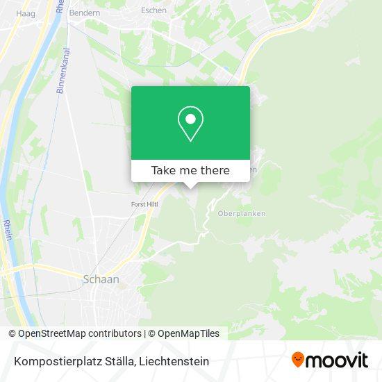 Kompostierplatz Ställa map