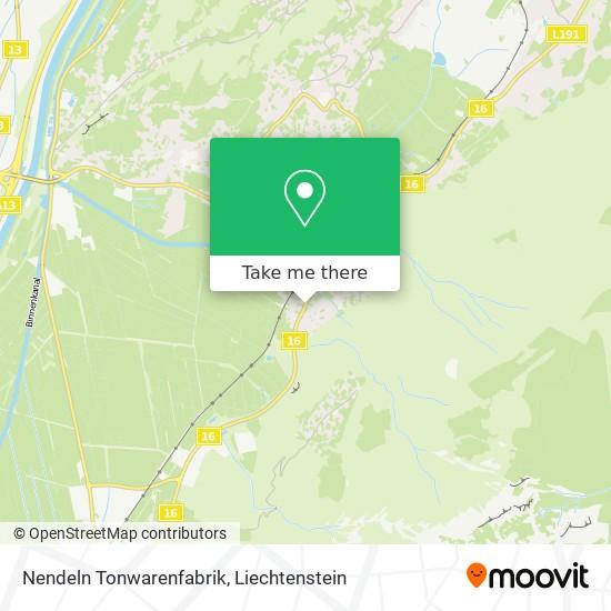Tonwarenfabrik map