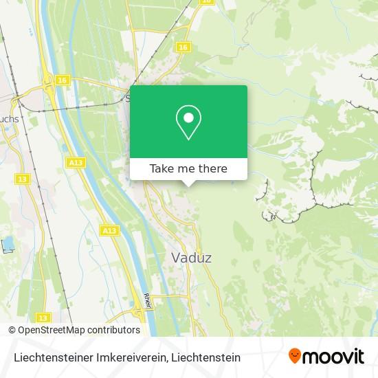Liechtensteiner Imkereiverein map