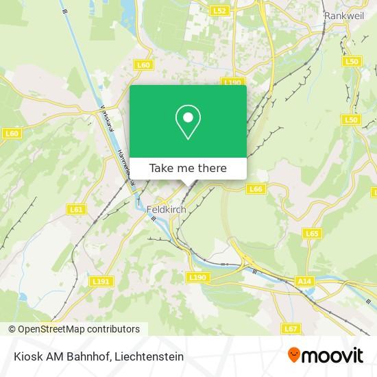 Kiosk AM Bahnhof map