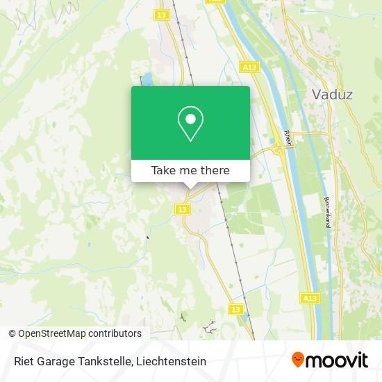 Riet Garage Tankstelle map