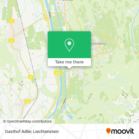 Gasthof Adler map