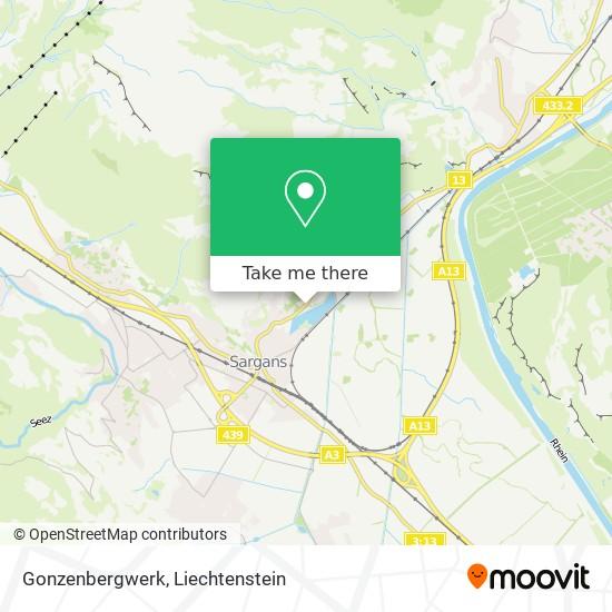 Gonzenbergwerk map