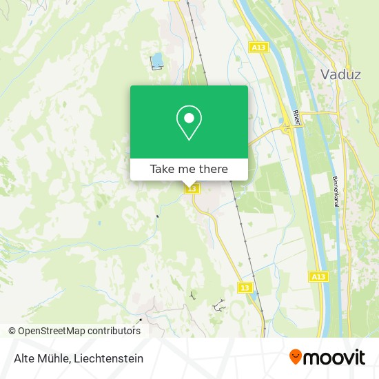 Alte Mühle map