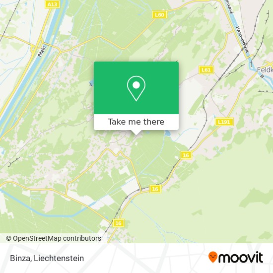 Binza map
