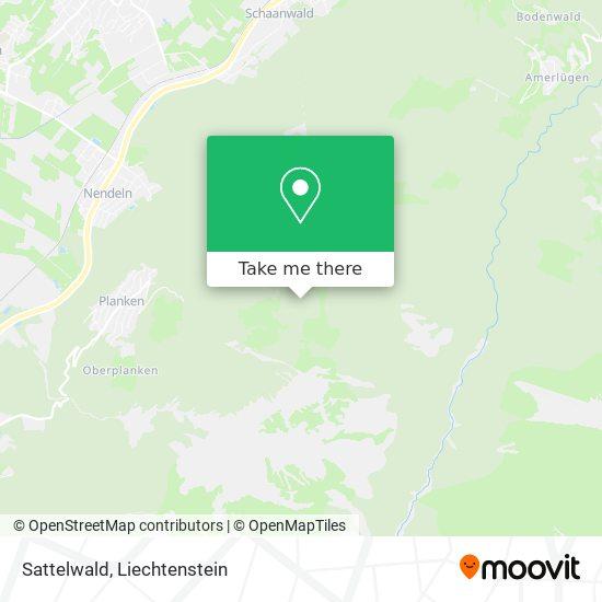 Sattelwald map