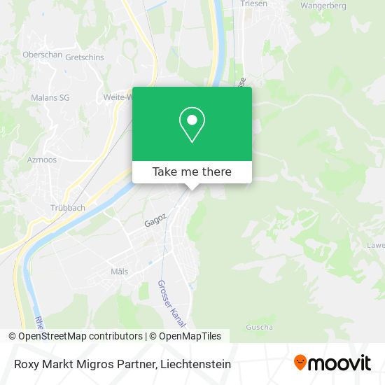 Roxy Markt Migros Partner map