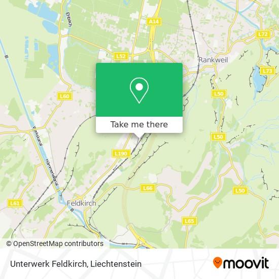 Unterwerk Feldkirch map