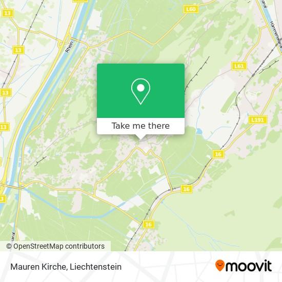 Mauren Kirche map