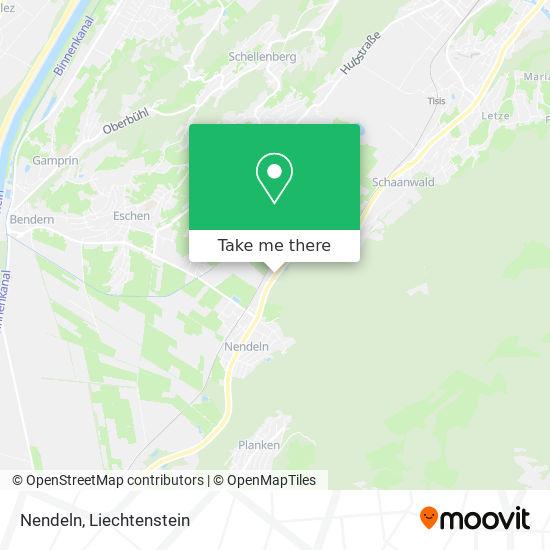 Nendeln map