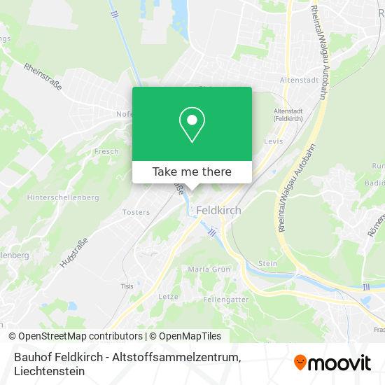 Bauhof Feldkirch - Altstoffsammelzentrum map