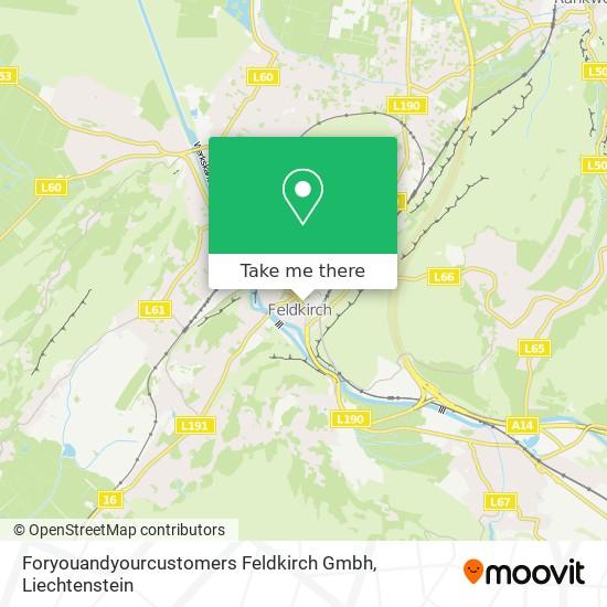 Foryouandyourcustomers Feldkirch Gmbh map
