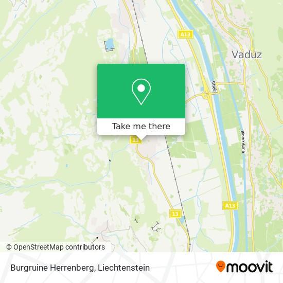 Burgruine Herrenberg map