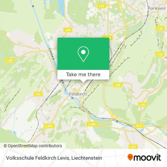 Volksschule Feldkirch Levis map