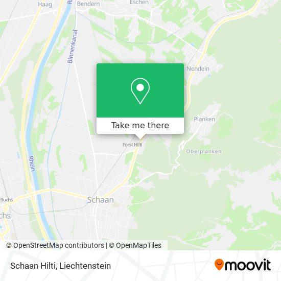 Schaan Hilti map
