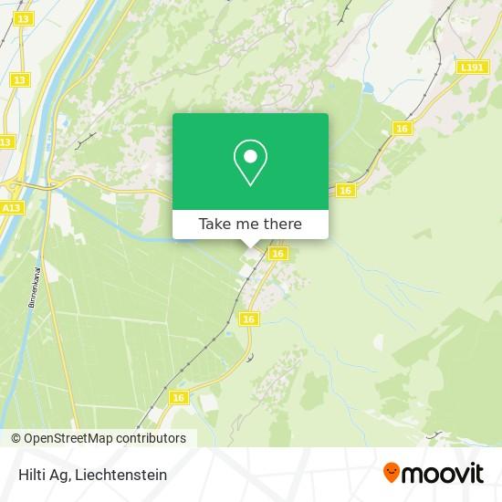 Hilti Ag map