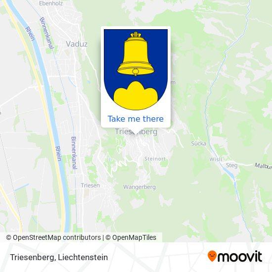 Triesenberg map