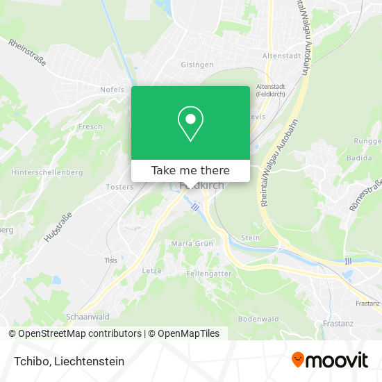 Tchibo map