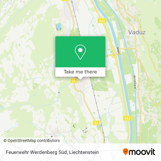 Feuerwehr Sevelen Zinslihof map