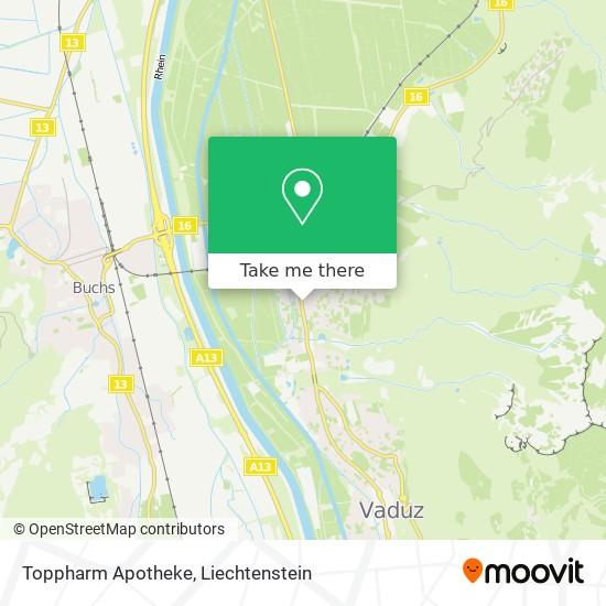 Toppharm Apotheke map