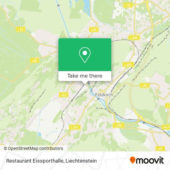 Restaurant Eissporthalle map