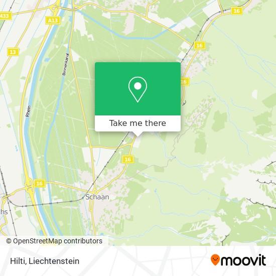Hilti map