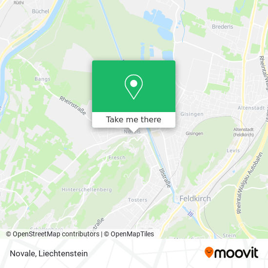 Novale map
