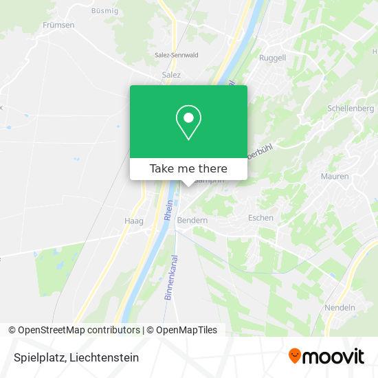 Spielplatz map