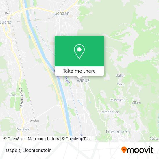 Ospelt map