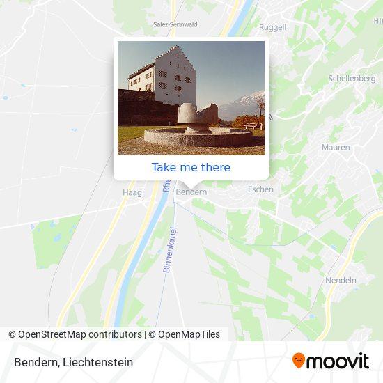 Bendern map