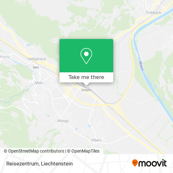 Reisezentrum map