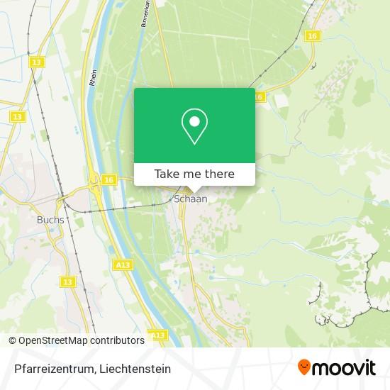 Pfarreizentrum map