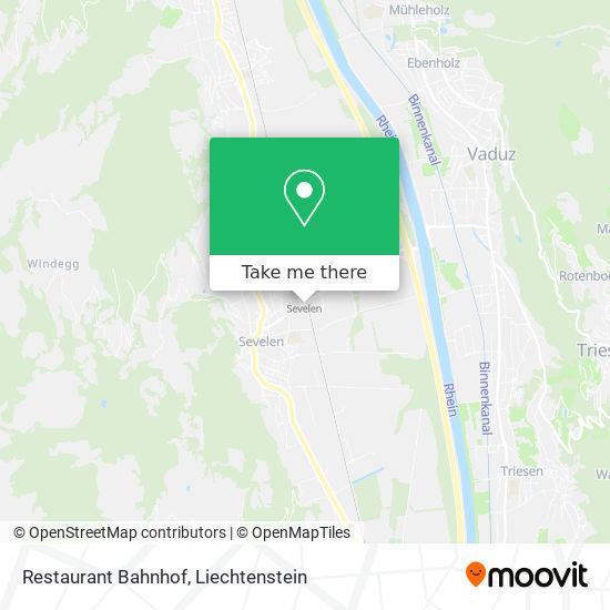 Restaurant Bahnhof map