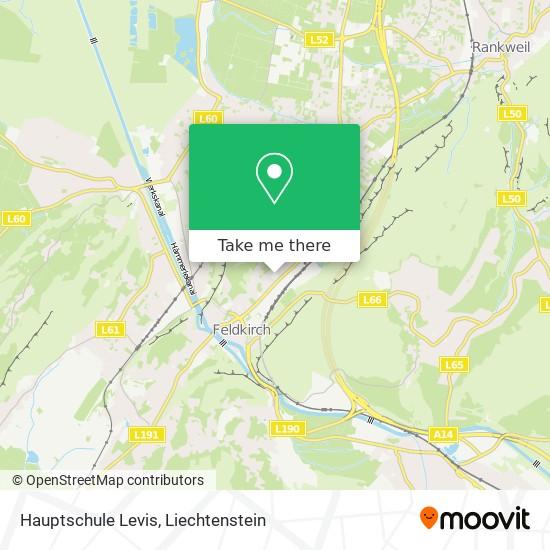 Hauptschule Levis map