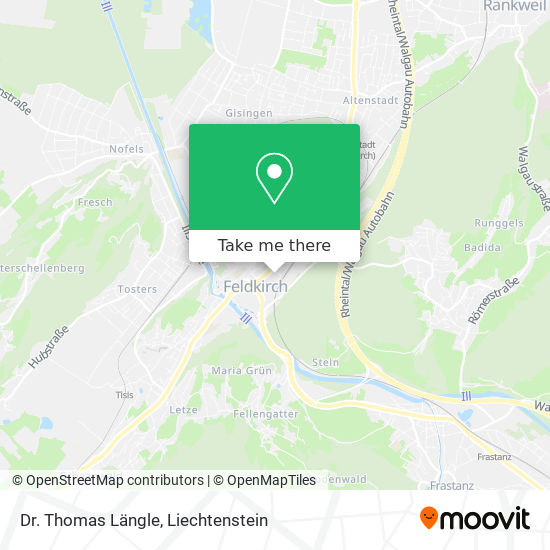 Dr. Thomas Längle map