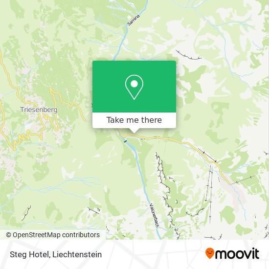 Steg Hotel map