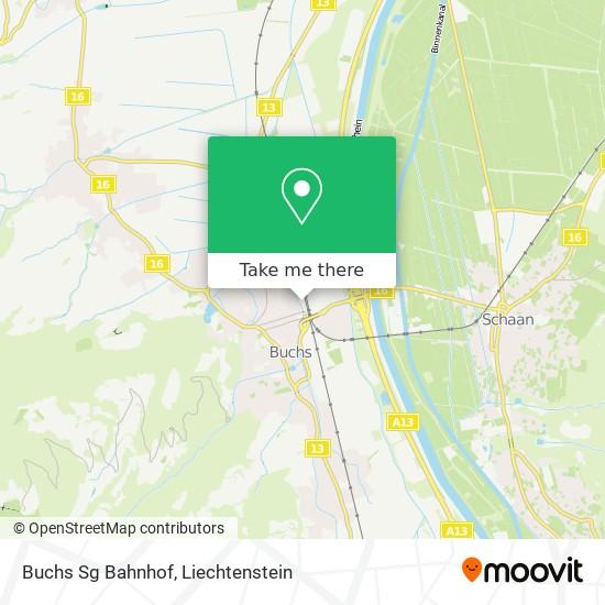 Buchs Sg Bahnhof map