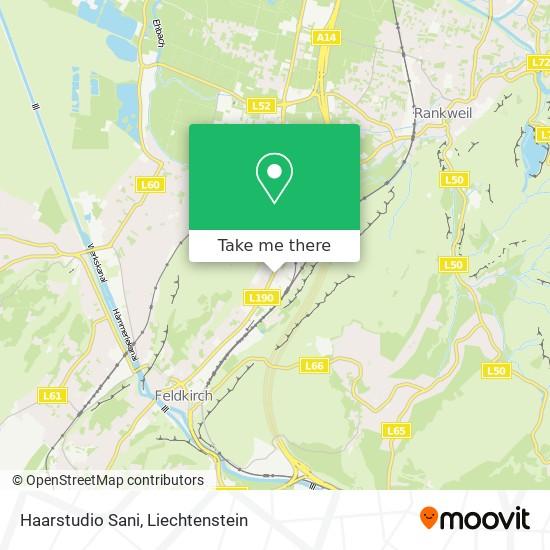 Haarstudio Sani map