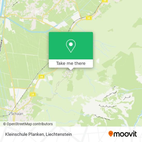 Kleinschule Planken map