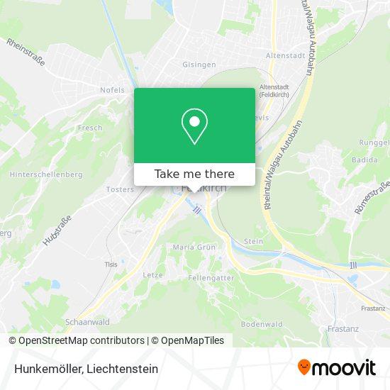 Hunkemöller map