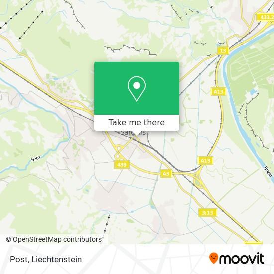 Post map